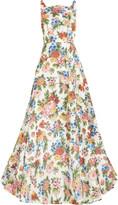 Emilia Wickstead Caroline floral jacquard gown