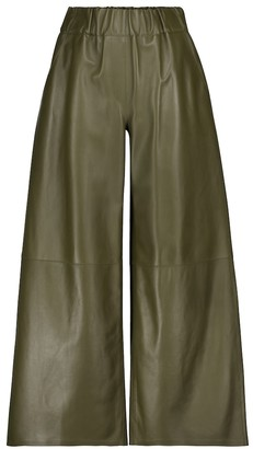 Loewe Leather culottes