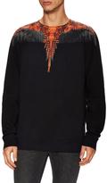 Marcelo Burlon County of Milan Printed Crewneck Sweatshirt