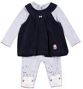 3 Pommes 3Pommes Baby Girls' Cute Little Cat Clothing Set