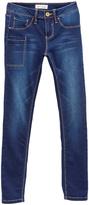 YMI Jeanswear Dark Wash Super-Soft iPant Skinny Jeans - Girls