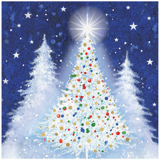 Simson Beyond Blue Charity Christmas Boxed Cards, Festive Lights - 10