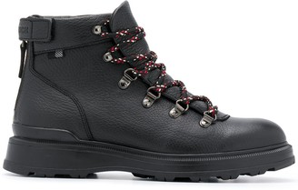 Woolrich Lace-Up Flat Boots