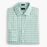 J.Crew Ludlow shirt in green tattersall