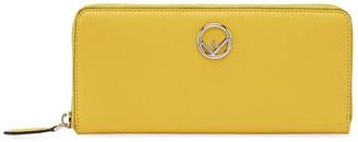 Fendi Slim Zip Around Wallet