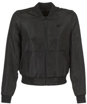 G Star Raw STRETT SLIM BOMBER women's Jacket in Black
