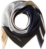 Vince Camuto Women's Spots and Stripes Square Scarf