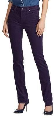 Lauren Ralph Lauren Petite Mid-Rise Corduroy Stretch Slim Jeans