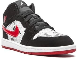 Nike Kids Air Jordan 1 Mid SE sneakers