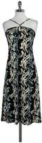 BCBGMAXAZRIA Floral Print Halter Dress