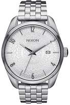 Nixon Unisex Quartz Watch Analogue Display and Stainless Steel Strap A4182129-00