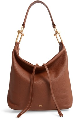 BOSS Small Christy Leather Hobo