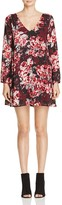 Cupcakes And Cashmere Jimmy Floral Print Shift Dress