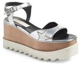 Stella McCartney Women's Star Wedge Platform Sandal