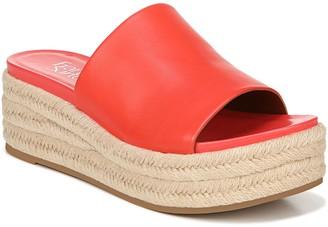 Franco Sarto Leather Slip-On Espadrilles - Tola
