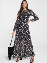 Very Tiered Maxi Dress - Floral
