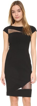 Black Halo Women's Remi Illusion Inset Sheath Dress
