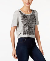 Calvin Klein Jeans Cropped Graphic T-Shirt