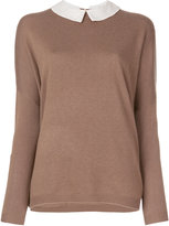 Steffen Schraut Peter Pan collar sweater