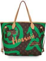 Louis Vuitton Green Summer Spirit Monogram Canvas Tahitienne Neverfull MM NM