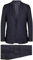 Paul Smith Soho Navy Pin-dot Wool Travel Suit