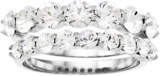 Brilliance+ Brilliance Round Ring Set with Swarovski Crystals