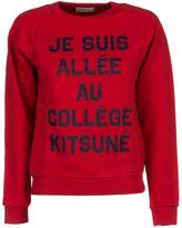 Kitsune Maison 'je Suis Allée' Sweatshirt