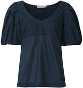 Isolda puffy sleeves blouse