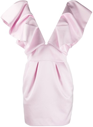 Alexandre Vauthier V-neck mini dress