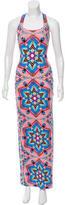 Mara Hoffman Geometric Print Maxi Dress