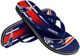 Forever Collectibles New England Patriots Gradient Big Logo Flip Flops