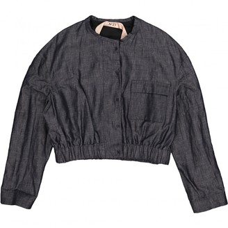 N°21 N21 Blue Cotton Jacket for Women