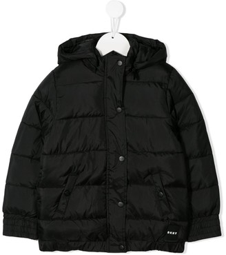 DKNY Hooded Puffer Jacket