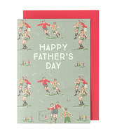 Cath Kidston Footie Blank Greetings Card Footie