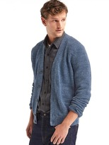Gap Textured button cardigan