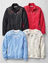 Tradition Women's Crew-Neck Fleece Sweater