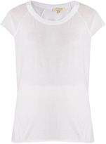 Nili Lotan Blair scoop-neck cotton T-shirt