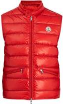 Moncler Gui stand-collar quilted-down gilet