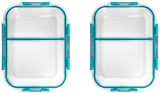 Core Home Lake Blue TruDivide Food Storage Container - Set of 2