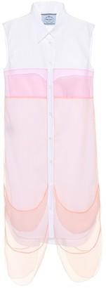Prada Sleeveless shirt dress