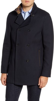 Rodd & Gunn Nixon Regular Fit Double Breasted Peacoat