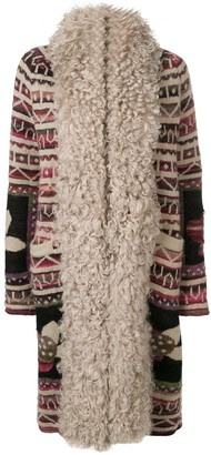 Chanel Pre Owned Contrast Trim Cardi-Coat