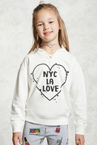 Forever 21 FOREVER 21+ Girls Graphic Hoodie (Kids)