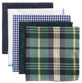The Tie Bar Trendy Green 5-Pack Pocket Squares