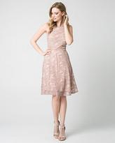 Le Château Lace Halter Party Dress
