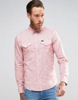 Lee Slim Western Slub Stripe Shirt