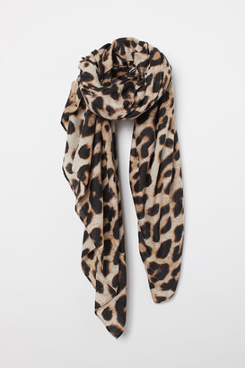 H&M Patterned Scarf