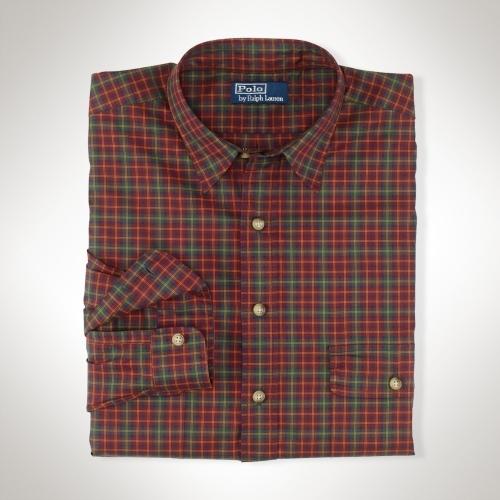 Polo Ralph Lauren Big & Tall Classic Plaid Twill Shirt
