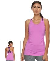 Tek Gear Women's Shirred Performance Tank Top