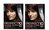 Clairol Perfect 10 By Nice 'N Easy Hair Color 004r Dark Auburn 1 Kit (Pack of 2)